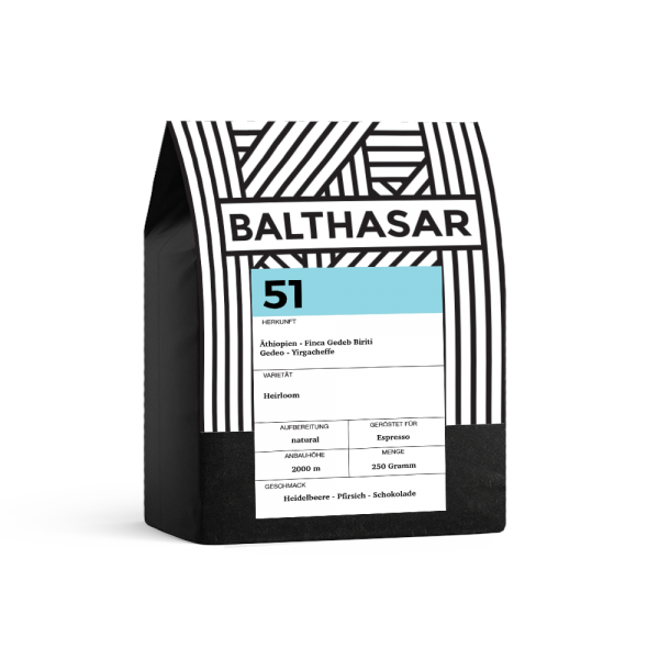 Balthasar N° 51, Äthiopien Natural