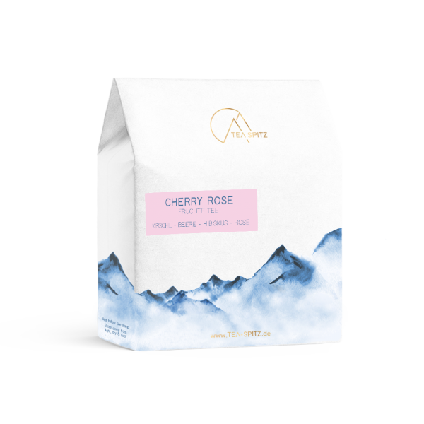 Tea Spitz, Früchte Tee, Cherry Rose