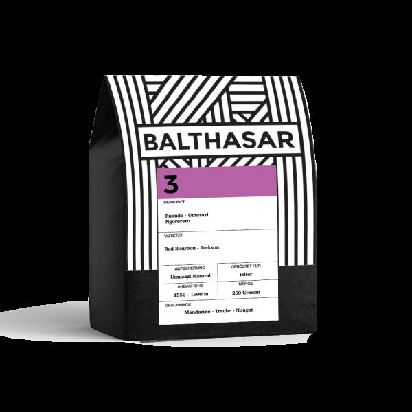 Balthasar No 3, Ruanda Umusazi, Filterkaffee